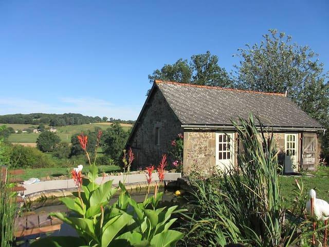 Maisonette avec terrasse en campagne