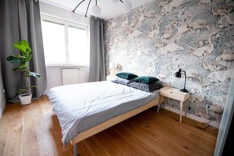 Klimatyczne mieszkanie w centrum Wrocławia