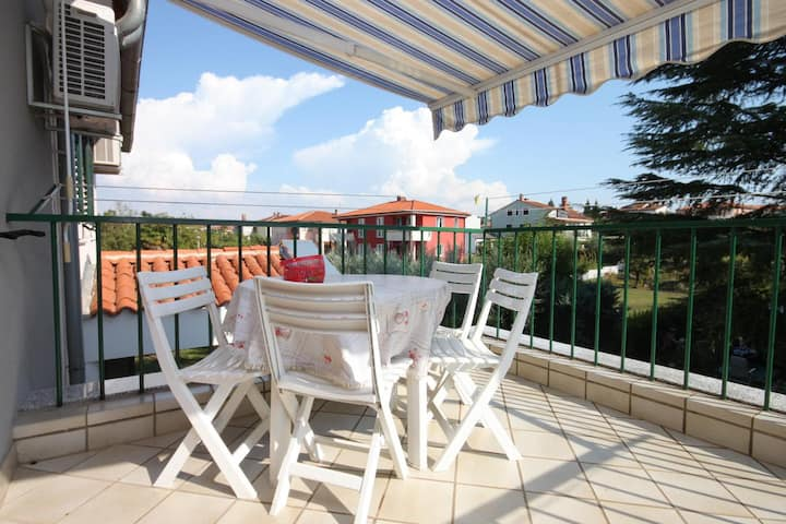 Two bedroom apartment with terrace Umag (A-6934-a)