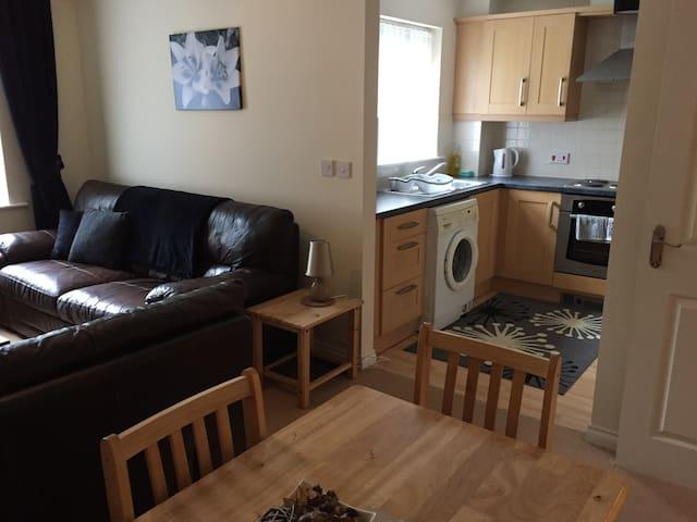 A large modern 2 bed flat, safe & quiet.