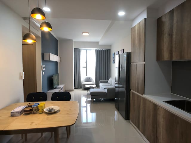 *Lavish 02BR*Riverview*Pool* near Bui Vien