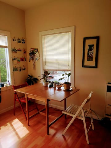 Sun-lit studio in West Oakland - Oakland - Apartment