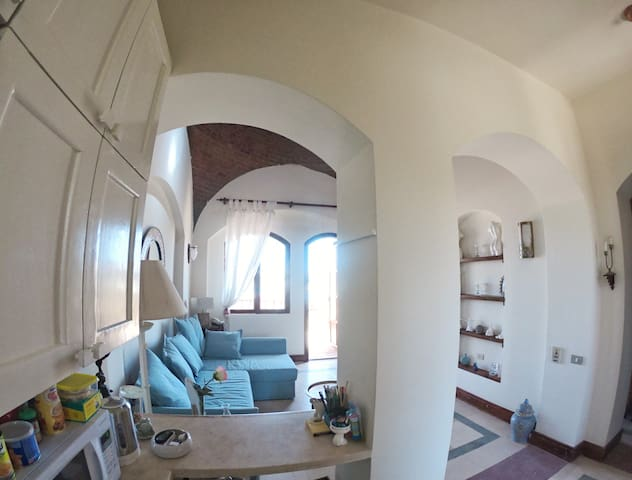 ElGouna ,Dome House on the Beach -Italian Compound