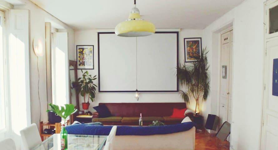 Habitación con cama doble en Calle Fuencarral