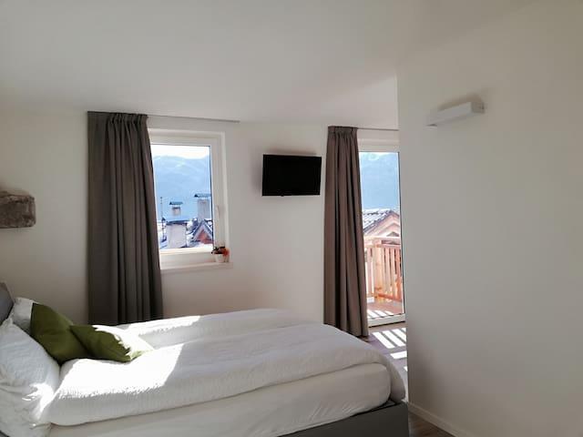 Open space con balcone, val di Fiemme - Carano