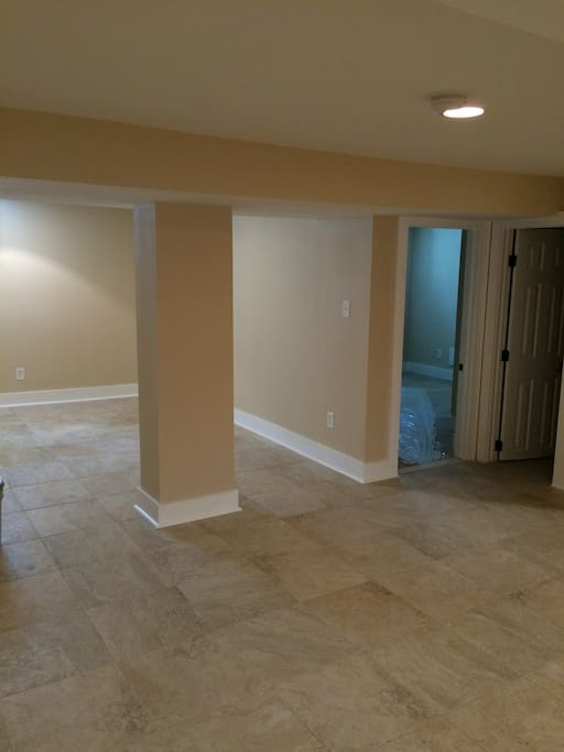 Basement with Bedroom