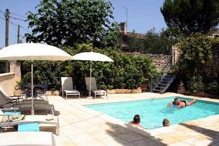 Vine Cottage & pool an hour from Bordeaux/Bergerac - Puisseguin