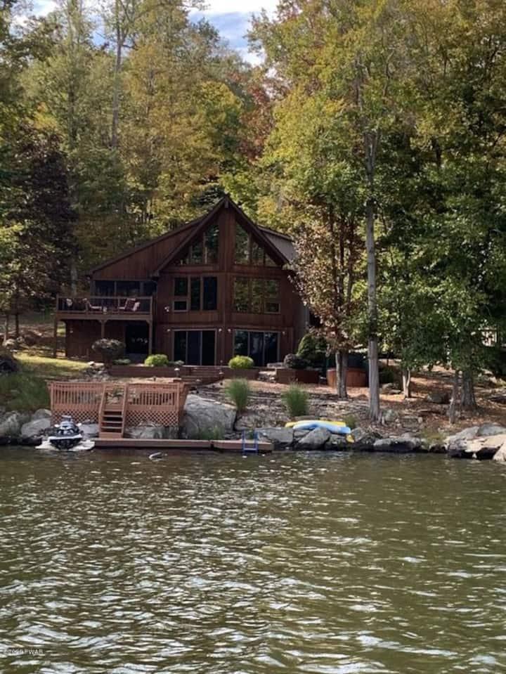 Boulder Cove Lakefront Retreat