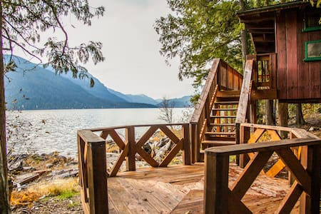 Mary Woods Cabin at Lake Wenatchee YMCA Camp