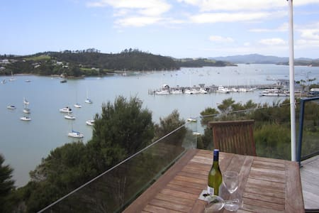 Crows Nest Villas, Opua - Bridge Deck - オプア