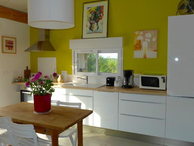 Maison de charme campagne tarnaise - Penne - House