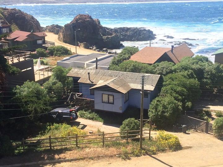 Acogedora cabaña en Los Molles