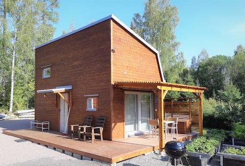 Gästhus vid sjön Edsken