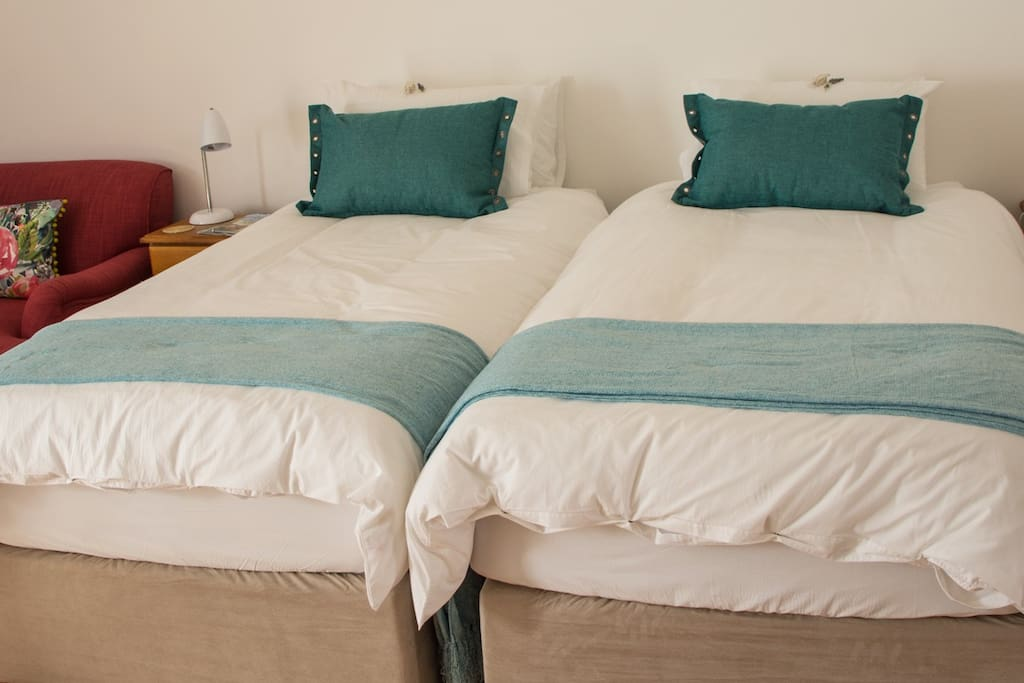 Comfortable extra length beds