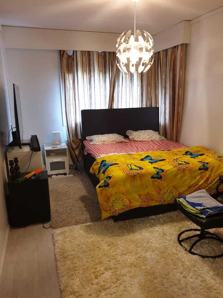 2room apt is just 2min walk from the Rastila metro