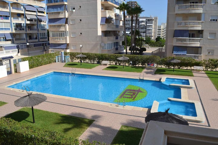 Chill Apartment Pool & Beach