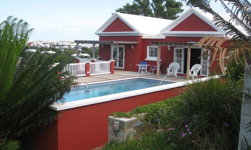 Gorgeous Cottage w/pool & views of the Great Sound - Paget Parish - Dům