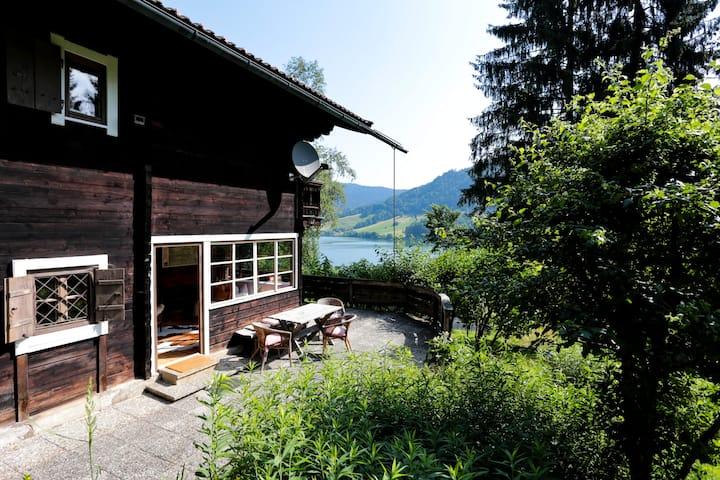 Casa de ensueño en el lago