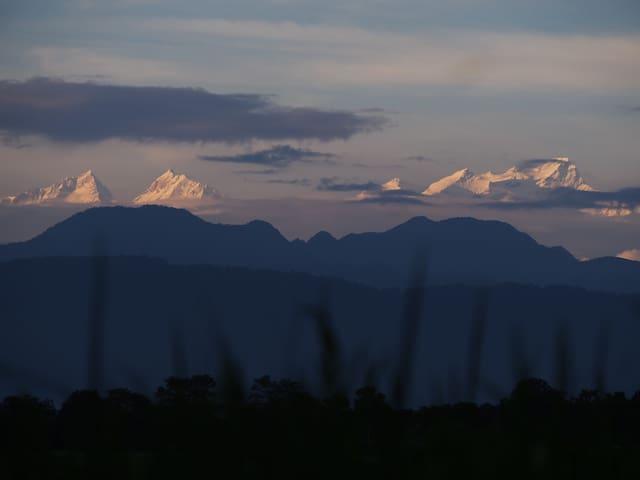 Himalayan view house
