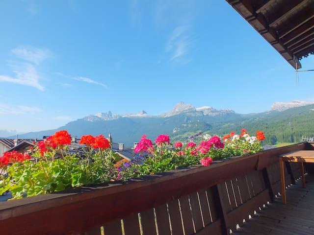 Ca' dei daini - Cortina d'Ampezzo - 一軒家