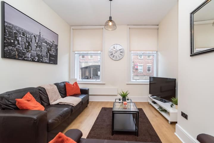 PERFECT CENTRAL LOCATION NEWCASTLE SERVICED APARTMENT ⭐ CLOSE TO THEATRES & RESTAURANTS