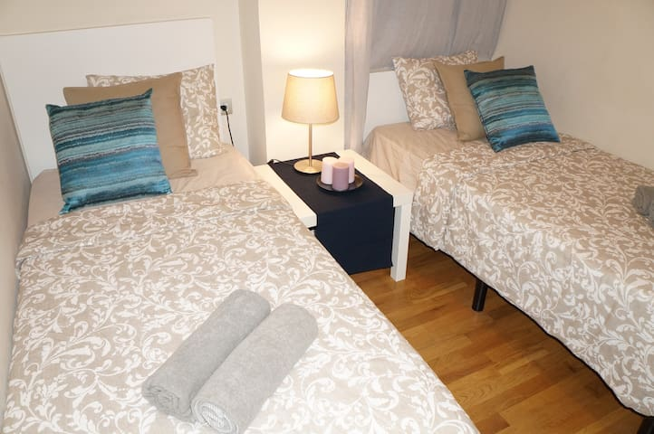 ****Cute Room for two***10 minutes from La Rambla