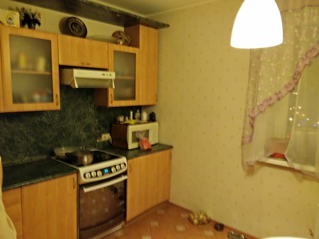 Просторная квартира рядом с метро - Moskva - Lägenhet