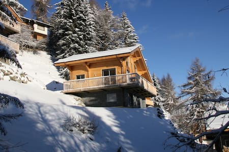 Charming Chalet, close to ski-lift, very snow-sure - Vex - Chalupa