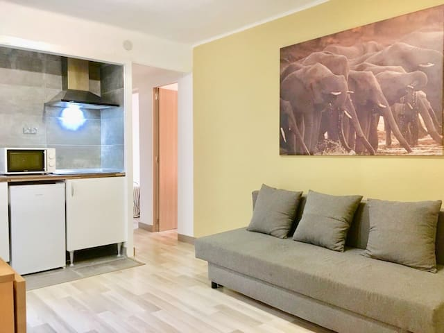 Huge apartment!! New and with XXL bed, METRO ST 32