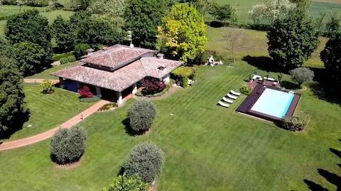 Villa Paradiso Nel Verde - Privat swimmingpool -