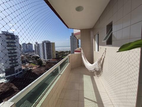 ❇️80 MTS da Praia Sacada c/ vista MAR  + WIFI VIVO