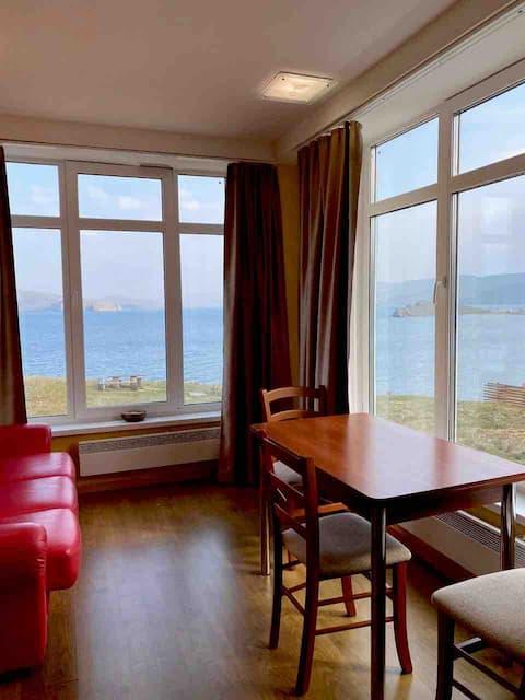 Migliore vista. Appartamento accogliente. Baikal vista.
