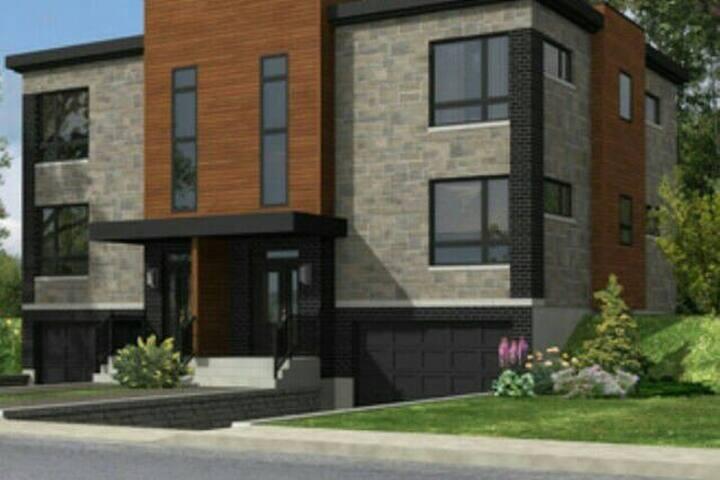 MAISON MODERNE PRÈS DU VIEUX QUÉBEC. - Houses for Rent in Québec ...