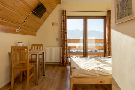Sunny room with mountain view  - Zakopane
