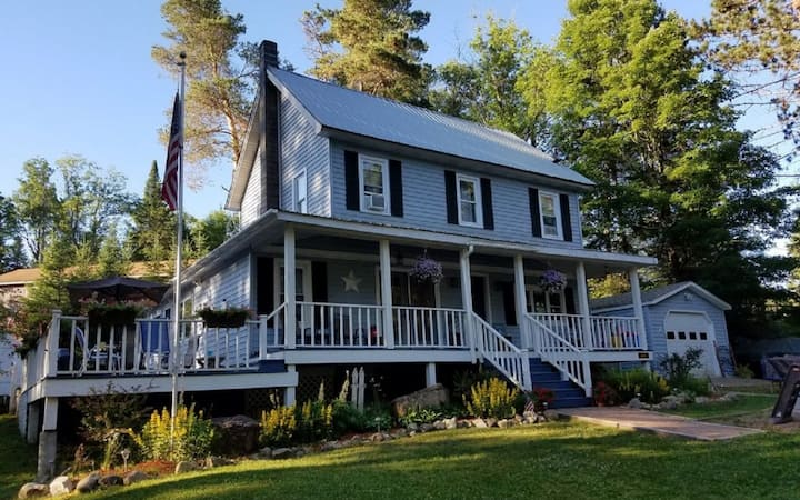 Modern country home w/character of the Adirondacks