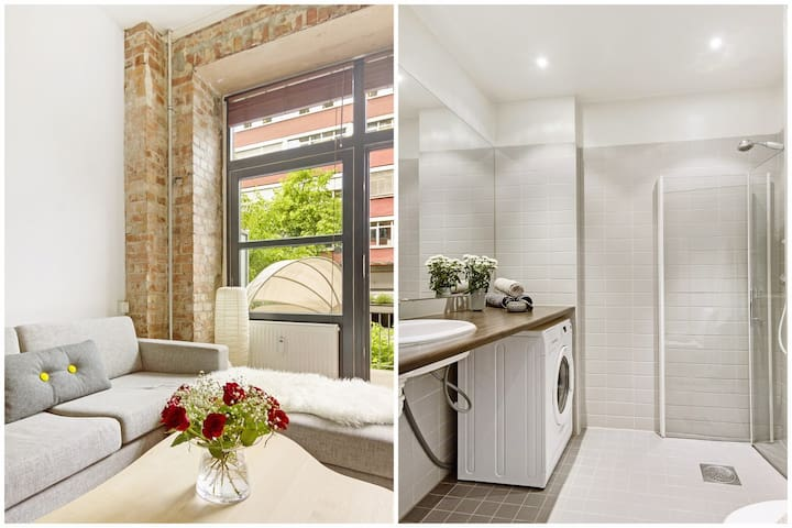 New York style apartment in the city centre