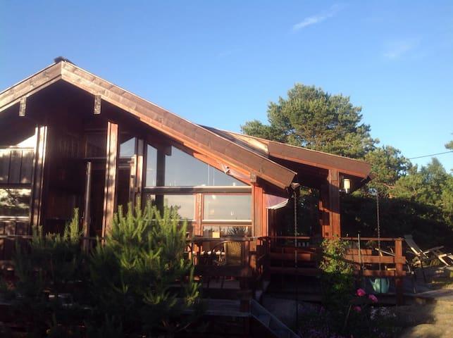 Hyggelig hytte med deilig utsikt - Fredrikstad - Casa de campo