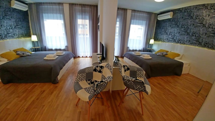 Comfy studio near Delta city - Belgrad
