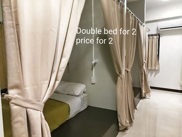 Friendly sharing rooms great location central