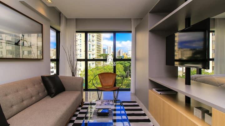 Apartamento novo de alto padrão no Batel.