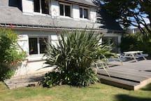 Grande maison familiale à 5 mn à pieds de la plage