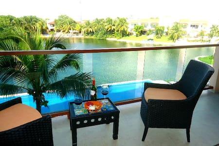 Departamento en Laguna - Puerto Aventuras - Appartement