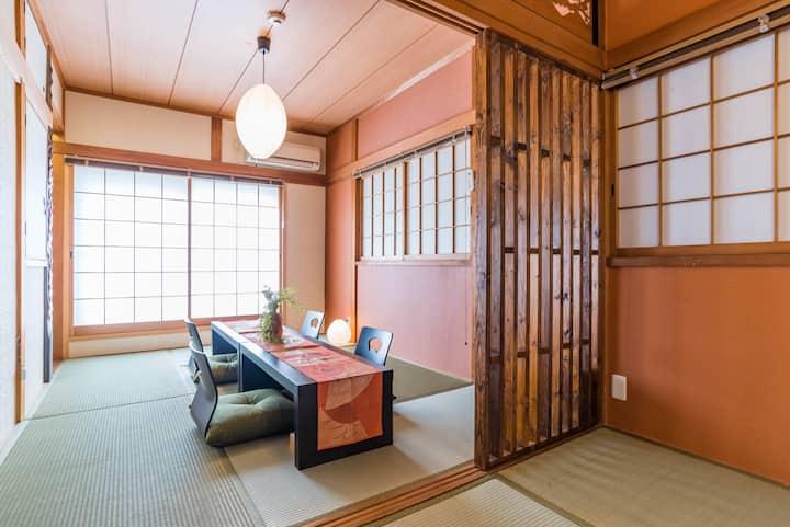 Designer house/5 mins to Namba/Bijou Suites Ikoi