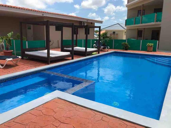 Modern apartment  in the hart of Curacao. apt D