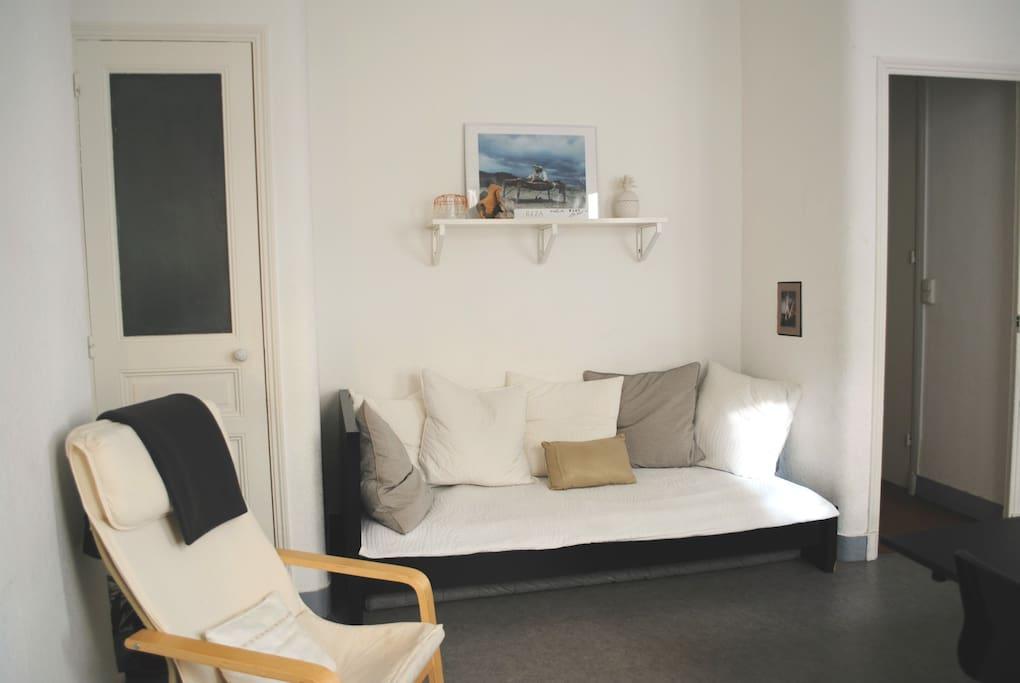 Appartement typique marseillais 50m centre ville for Appartement design centre marseille vieux port et noailles