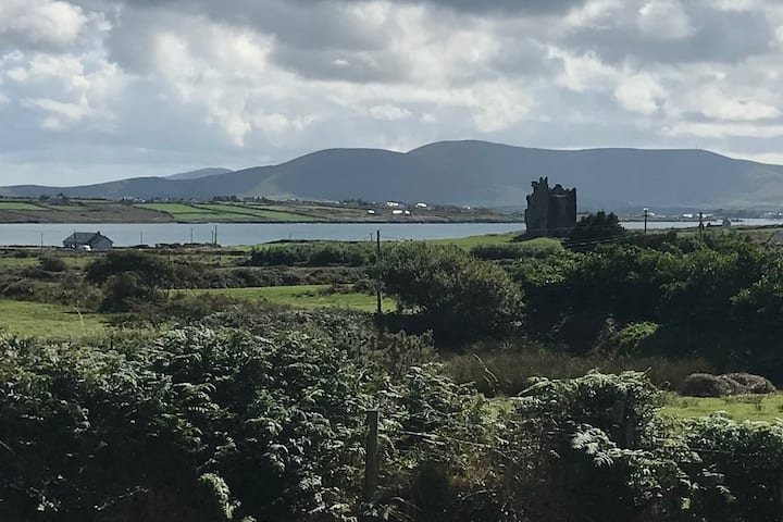 Ballycarbery Castle View