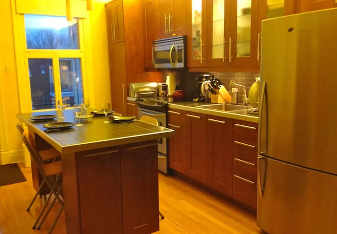 Appartement spacieux, calme, très bien situé