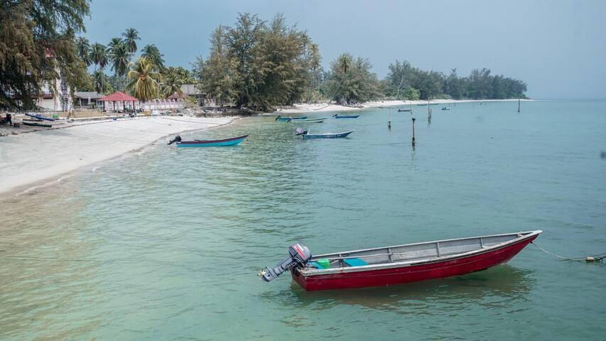 Beach House Pulau Sibu (Private)