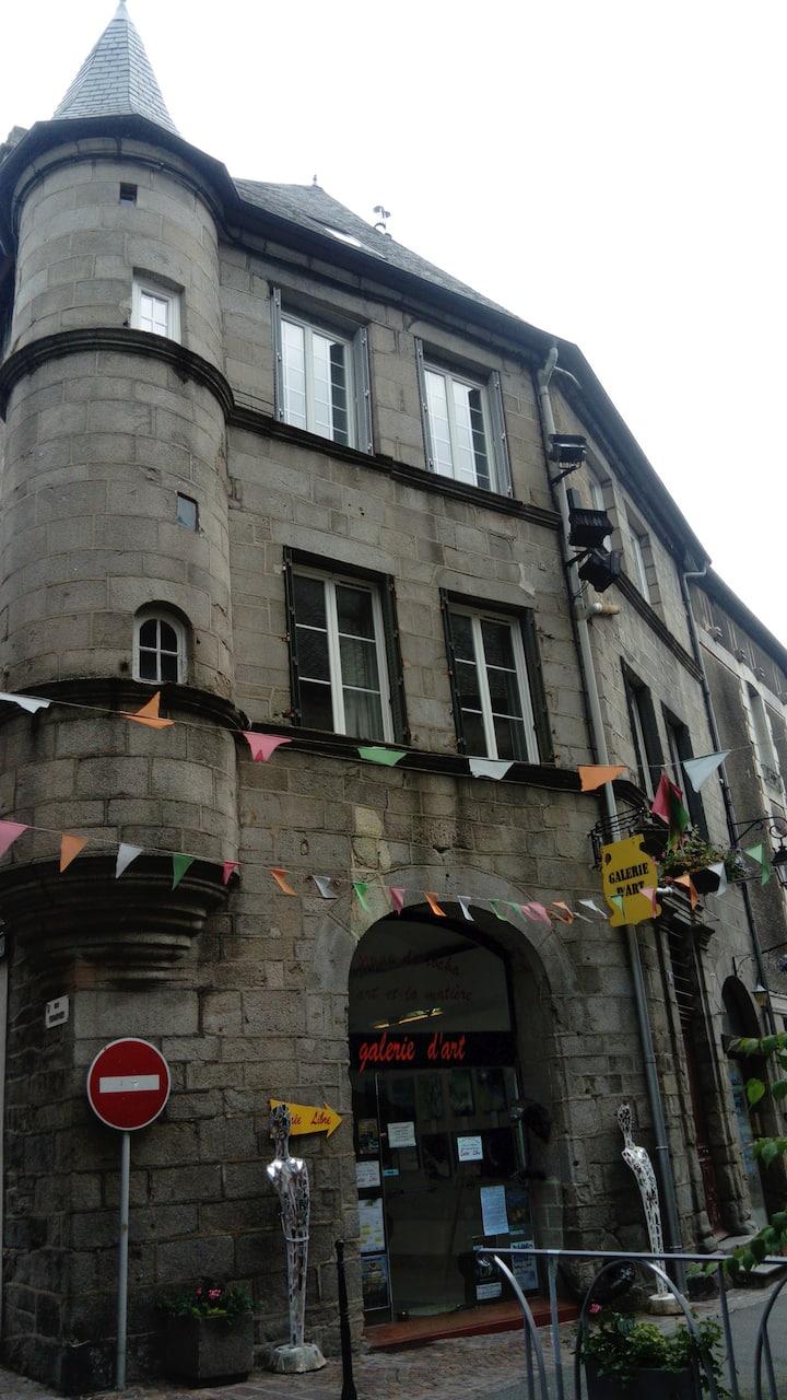 appt centre historique Ussel Corrèze