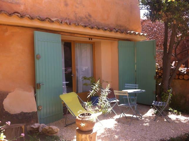 petit studio provençal sur jardin